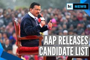 Delhi Elections 2020: AAP releases list of candidates, 15 sitting MLAs ...