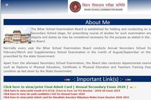 Bihar 10th board exam admit card 2020 released, here's how to download