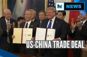 Watch: US, China sign Phase 1 of 'momentous' trade deal
