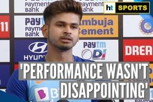 'Performance wasn't disappointing': Shreyas Iyer on 1st ODI loss against...