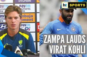 India Vs Australia l Virat Kohli very difficult to bowl at: Adam Zampa