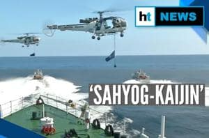 Watch: Coast guards from India & Japan display their might at 'Sahyog-K...