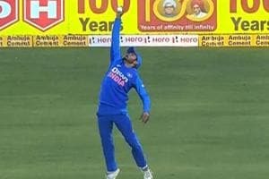 WATCH: Pandey's 'out of the world' catch stuns Warner