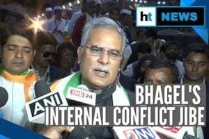 Chhattisgarh CM's 'internal conflict' jibe at PM Modi, Amit Shah over N...