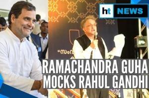 Watch: Ramachandra Guha's 'fifth generation dynast' jibe at Rahul Gandhi