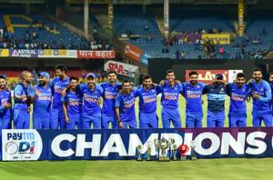 India beat Australia by seven wickets to seal ODI series 2-1