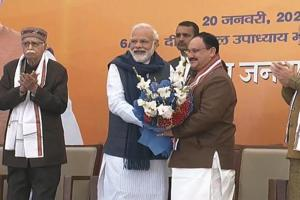 In PM Modi's welcome message for Nadda, throwback to their 'days on scooter'