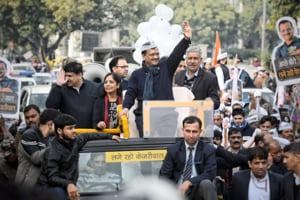 Delhi assembly election 2020: AAP's roadshow holds up Arvind Kejriwal, misses 3 pm deadline to file papers today