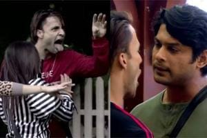 Bigg Boss 13: Asim Riaz threatens Sidharth Shukla, says 'I will gouge your eyes out', calls him a mosquito- Watch