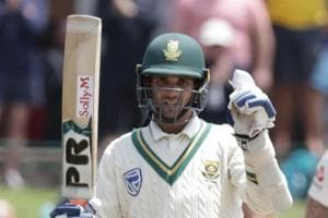South Africa vs England: 4,4,4,6,6,4b - SA spinner Maharaj goes berserk as England concede most runs in an over