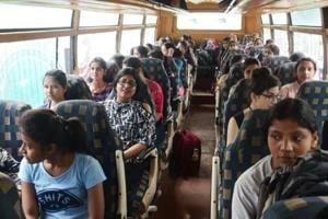 110 J-K students leave for Tamil Nadu under student exchange programme