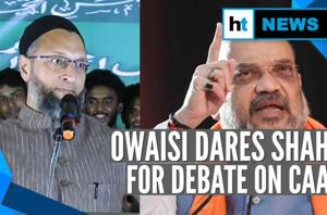 'Debate with a bearded man': Asaduddin Owaisi dares Amit Shah on CAA