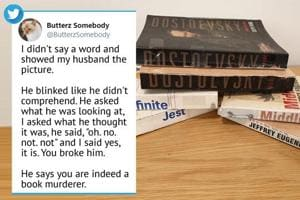 Man called 'book murderer' by friend, Twitter seconds the title- Here's what he did