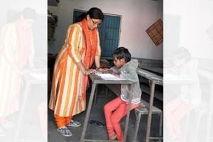 Bihar school has two teachers and a cook for single student