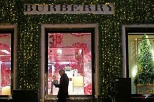 Burberry weathers Hong Kong slump by selling more in mainland China