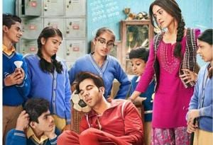 Chhalaang first look poster: Rajkummar Rao enjoys a much needed nap before he takes a big leap, see pic