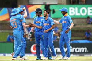 India vs New Zealand ICC U19 World Cup Highlights: India beat NZ by 44 runs -DLS method-