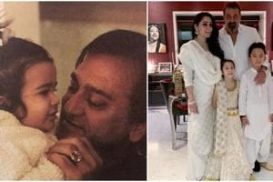 Trishala Dutt shares throwback pic with grandfather Sunil Dutt, Maanayata showers her with love- See photo