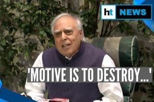 Watch: Kapil Sibal on reports of his link to PFI funds for CAA protests