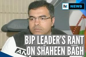 'They will rape & kill': BJP leader Parvesh Verma on Shaheen Bagh prote...