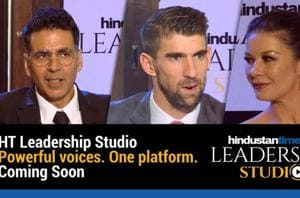 HT Leadership Studio: Most powerful voices on one platform, Coming Soon