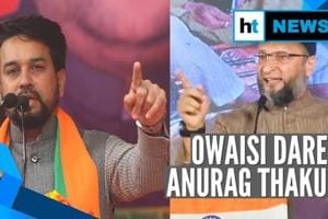 'Name the place where you will shoot me': Asaduddin Owaisi to Anurag Th...