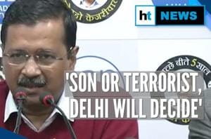 'Delhi will decide if I'm their son or terrorist': CM Kejriwal hits back...
