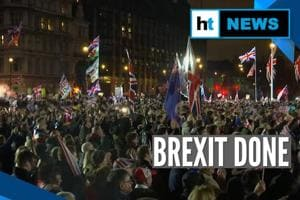 Brexit: UK formally leaves the European Union, supporters celebrate