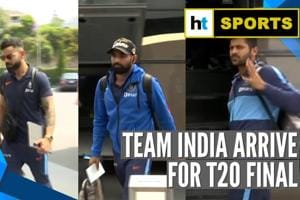 India vs New Zealand | Men in Blue arrive for final T20I clash with the...