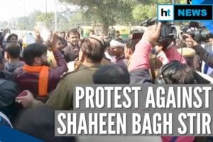 At protest against Shaheen Bagh stir, 'goli maaro' slogan day after sho...