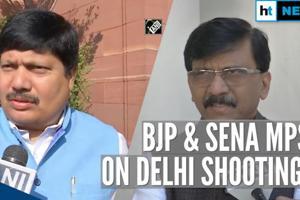 Delhi shootings: BJP MP says 'youth misguided', Shiv Sena blames govt m...