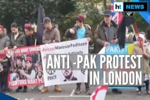 Pashtuns protest outside Pakistan embassy in London over activist's arr...
