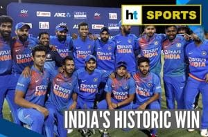 India vs New Zealand: Men in Blue win last T20I, set record with 5-0 sw...