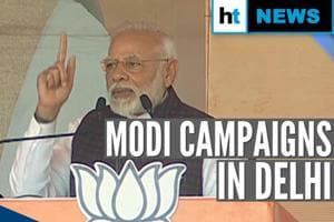 'Dismiss anti-national politicians on Feb 8': PM Modi's poll pitch in D...
