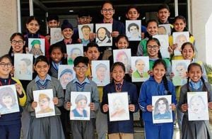 Young artists showcase creativity at HT workshop
