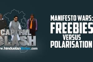 Manifesto Wars: Freebies versus Polarization in Capital Clash