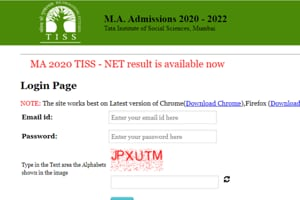 TISS-NET MA Result 2020 declared, here's direct link to check