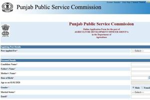Punjab PSC recruitment 2020: 141 vacancies for Agriculture Development Officers notified, apply before Feb 20