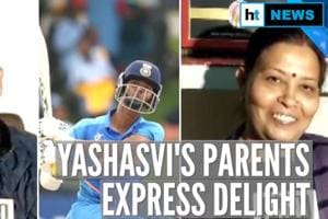 U19 CWC: 'Good at handling pressure': Yashasvi Jaiswal's father on son's...