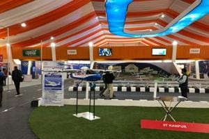 IIT-Kanpur develops small-sized unmanned air vehicle as air taxi, on display at DefExpo