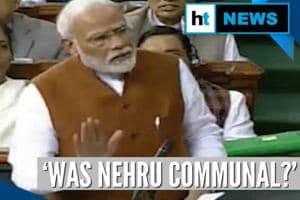 'Was Nehru communal?': PM Modi cites partition to attack Congress over ...