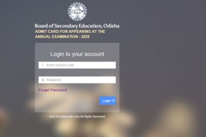 BSE Odisha 10th, 12th admit card 2020 released, directs link to download here