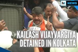 BJP's Kailash Vijayvargiya detained in Kolkata over pro-CAA rally