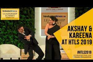 #HTLS2019: Akshay Kumar on interviewing PM Modi; Kareena on pay parity