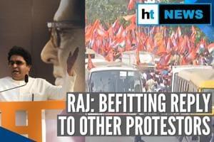 Mumbai: Amid CAA debate, Raj Thackeray's MNS marches against illegal mi...