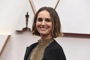 Natalie Portman wears cape with names of snubbed female directors to Oscars 2020