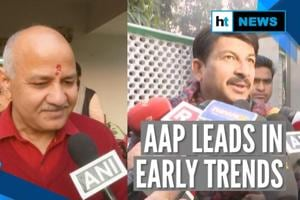 Delhi polls | Counting of votes underway, AAP leads in early trends