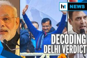 Delhi gives thumbs up to Kejriwal: What it means for AAP, BJP & Congress