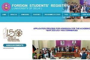DU admissions 2020-21: Delhi University begins application process for foreign nationals, here's all you need to know