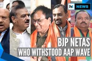 AAP sweeps Delhi: Meet the 8 BJP candidates who defied Kejriwal wave & ...